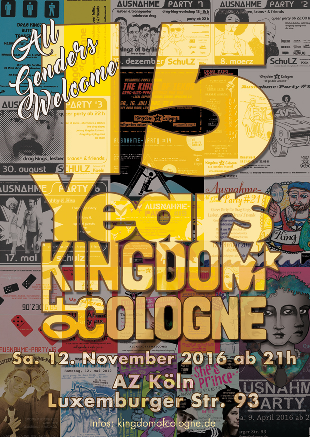 Flyer Kingdom of Cologne - 15 Jahre
